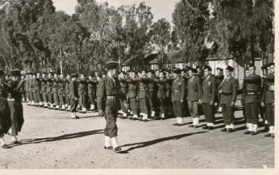 Prise d armes 45rt maison carree 1950